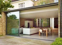 Minimal urban living contemporary-kitchen