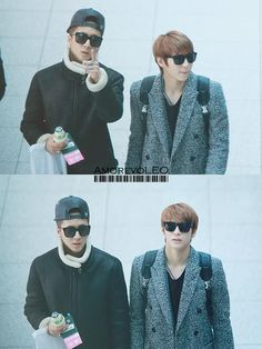 Ravi + Leo   Leo seems out of it lol
