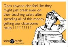 Teachers need a brea