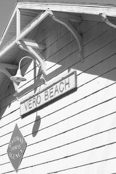 Indian River Historical Society, Old Vero Beach Train Depot by wassonii, via Flickr