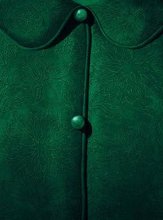 buttoned up/ love this green color, reminds me of rainforest