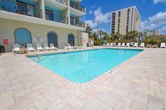 Outdoor pool.  Blue Water Resort   Condos for Sale in Myrtle Beach,SC  #bluewaterresort
