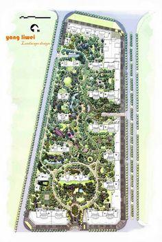 Residential landscape mastet plan