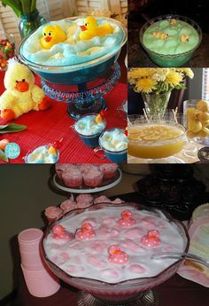 Baby Shower Ideas: Rubber Ducky Baby Shower