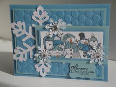 My Christmas Card by twiddlehopper - Cards and Paper Crafts at Splitcoaststampers