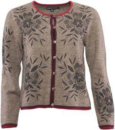 Gudrun Sjödéns Winterkollektion 2014 - Strickjacke Bllom aus gefilzter Wolle ist auch in XXL erhältlich. Mehr unter: http://www.gudrunsjoeden.de/mode/produkte/strickjacken-westen