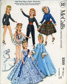 Vintage Doll Clothes PATTERN original McCall's by BlondiesSpot, $19.99