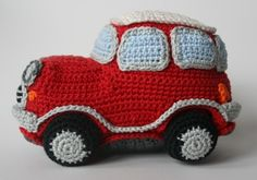 Rood autootje