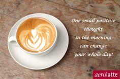 #coffee inspiration #aerolatte