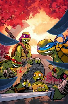 TMNT  Mike: Guysss i think We're not in new york R: Ya think!?