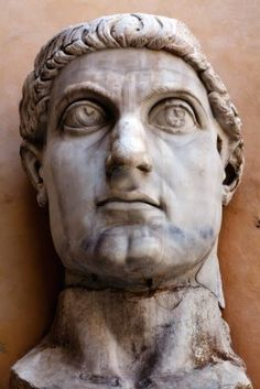 Constantine the Great, 304-337 converted to Christianity, and made it the official religion of the Empire. Major implications. He is venerated as a saint in various parts of the christian world.