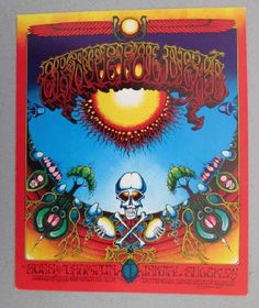 Original 3rd printing handbill for The Grateful Dead, Sons of Champlin and many more at The Avalon Ballroom in San Francisco in 1969. Artwor...
