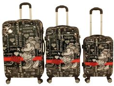 disney luggage disneyland