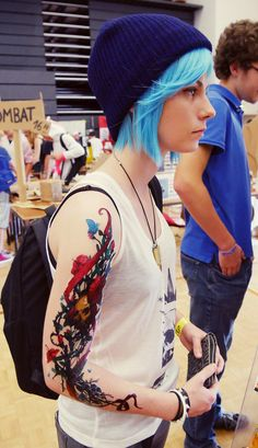 Cosplay Anime Do you want more Chloe x Rachel pic ?) I hope you will like our cosplay - Cosplay Anime, Cosplay Makeup, Cosplay Wigs, Life Is Strange, Amazing Cosplay, Best Cosplay, Max And Chloe, Female Armor, Satsuriku No Tenshi