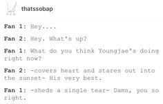 you so right.... B.A.P. YoungJae