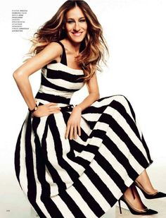 Sarah Jessica Parker for Harper's Bazaar Russia June 2013- Lensed by: Simon Upton | Styled by: Juan Cebrian