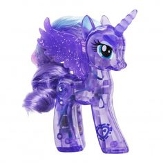 MLP Princess Luna Explore Equestria Sparkle Bright Brushable
