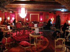 Café Schober, Zurich, Switzerland- Home of the best hot chocolate in the city <3