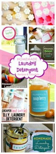 17 Recipes for Homemade Laundry Detergent Tide Doesn't Want YOU to Find Out