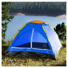 Whetstone Happy Camper Two Person TENT with Carry Bag #Whetstone