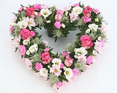 Cross and Heart funeral flowers and wreaths Freesia Flowers, All Flowers, Beautiful Flowers, Wedding Flowers, Funeral Floral Arrangements, Flower Arrangements, Funeral Sprays, Corona Floral, Funeral Tributes