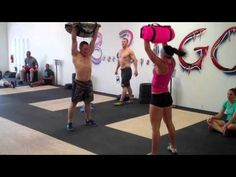 I have been doing this for the past week with my 25kg sandbag. . you get results quickly! This is Brute Force Sandbags Burpee/ Squat Clean/ Overhead Press Challenge- 31 Heroes Fundraiser. TRY IT!
