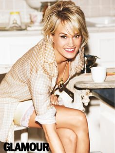 Carrie Underwood's June 2012 Cover Shoot Gallery: Fashion: glamour.com