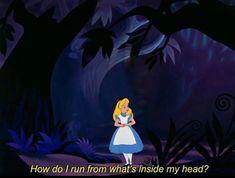 Cartoon Quotes, Funny Quotes, Sassy Quotes, Cartoon Art, Alice In Wonderland Aesthetic, Wonderland Alice, Wonderland Tattoo, Wonderland Party, Citations Film