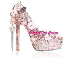 Devine ❤ Glamour Dolls, Pretty In Pink, Platform, Couture, Heels, Fashion, Heel, Moda, Wedge