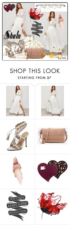 """""""shein 3"""" by aida-1999 ❤ liked on Polyvore featuring Maybelline and WALL"""