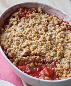 Barefoot Contessa - Recipes - Strawberry Rhubarb Crisp