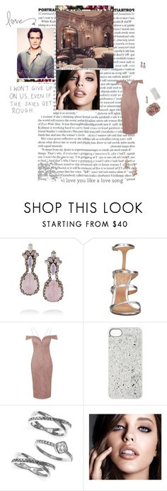 """""""Like a love song"""" by amber-daylight ❤ liked on Polyvore featuring Givenchy, Erickson Beamon, Gianvito Rossi, Topshop, Marc by Marc Jacobs, Judith Jack, Maybelline and Ilia"""