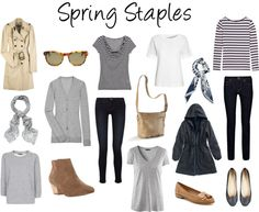 """Spring Staples"" by victoriastyle on Polyvore"