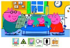 Cuento de Peppa Pig adaptado con pictogramas