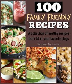 best healthy family recipes from all the best blogs tone and tighten