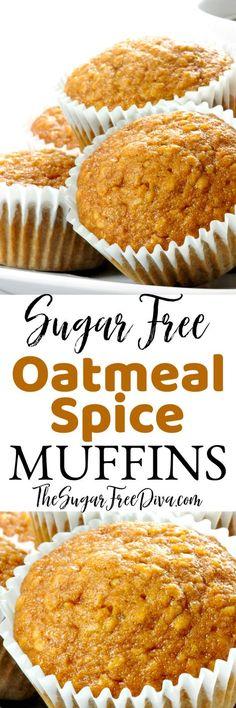 Sugar Free Deserts, Sugar Free Sweets, Sugar Free Recipes, Baking Recipes, Dessert Recipes, Diabetic Friendly Desserts, Diabetic Snacks, Diabetic Recipes, Low Carb Recipes