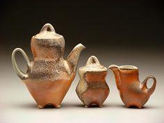 Love this tea set by Tara Wilson