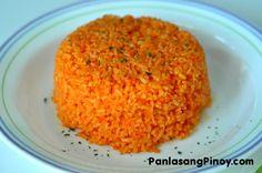 filipino food: Java Rice