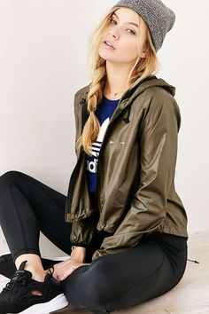 The Upside Khaki Barre Jacket - Urban Outfitters