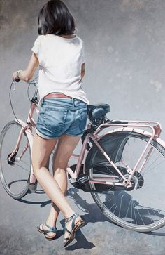 Marc Figueras-Vélo - Realistic Paintings by Marc Figueras