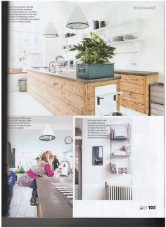 industriele keuken industrieel keukenidee vt wonen stoer kitchen industrial