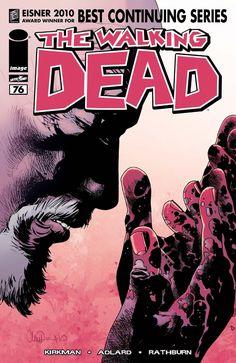 Issue #76 #WalkingDead #comic #cover #kirkman #image #thewalkingdead #Adlard