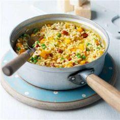 Chorizo and squash risotto Recipe   delicious. Magazine free recipes