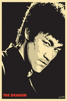 The Dragon: Bruce Lee by Joshua Budich is printed with premium inks for brilliant color and then hand-stretched over museum quality stretcher bars. Money Back Guarantee AND Free Return Shipping. Bruce Lee Poster, Bruce Lee Art, Bruce Lee Workout, Bruce Lee Pictures, Jeet Kune Do, Enter The Dragon, Little Dragon, Martial Artist, Arte Pop
