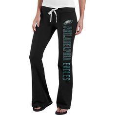 Women s Philadelphia Eagles  47 Brand Black Pep Rally Pants bc64fa6ba