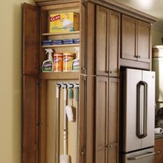 endcap cleaning closet for the kitchen   http://bit.ly/GJRsQy  for the home
