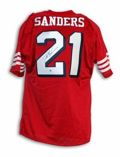 Deion Sanders Signed San Francisco 49ers Jersey by Autograph-Sports.   538.40. Deion Sanders Signed San Francisco 49ers Jersey - From a Private  Signing. a0e66e3bf