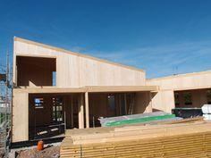 #Estructura #Madera #passivhaus #Asturias www.timberonlive.com