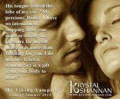 My Viking Vampire www.krystalshannan.com #romance #paranormal #small #town #Texas #KrystalShannan