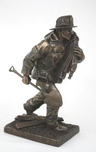 Responding To The Call Firefighter Statue